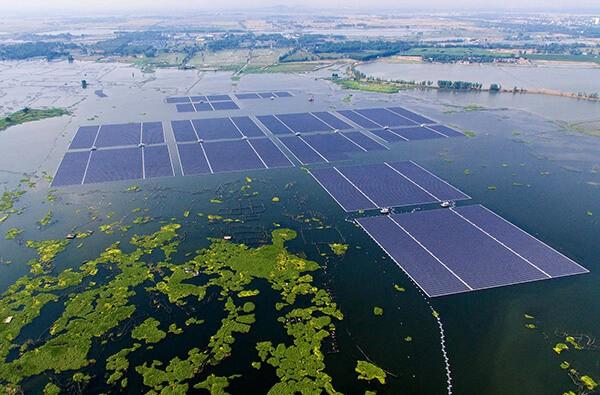 Nhà máy điện mặt trời nổi lớn nhất thế giới tại Trung Quốc