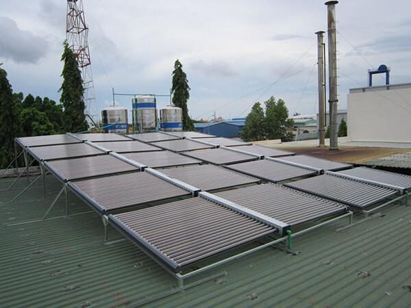 Hệ thống bình nước nóng năng lượng mặt trời